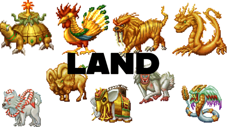 MyCryptoHeroesIntroducing 9 land of (MCH)