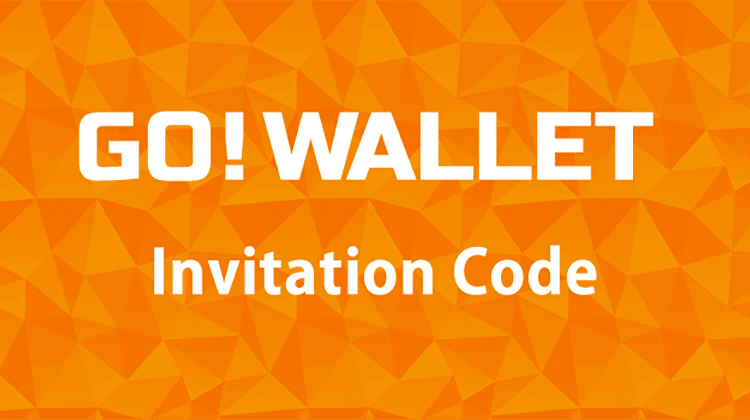 GO! WALLET invitation code